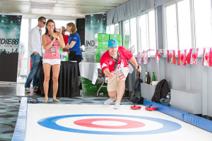 artificial curling game