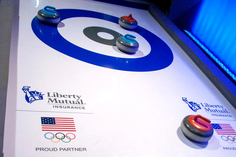 iceless curling event