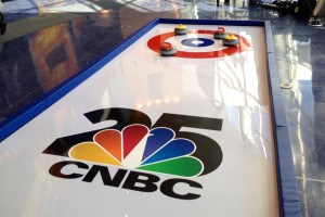 portable curling rink on CNBC