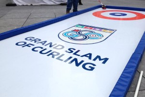 portable curling rink grand slam