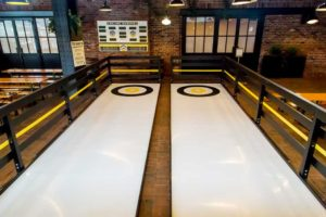 portable curling rinks