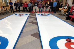 portable curling lanes