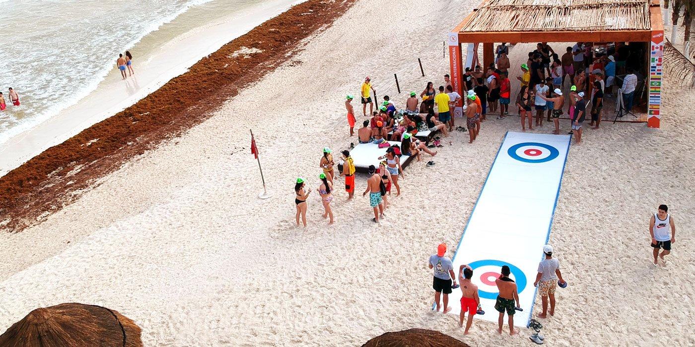 outdoor curling games