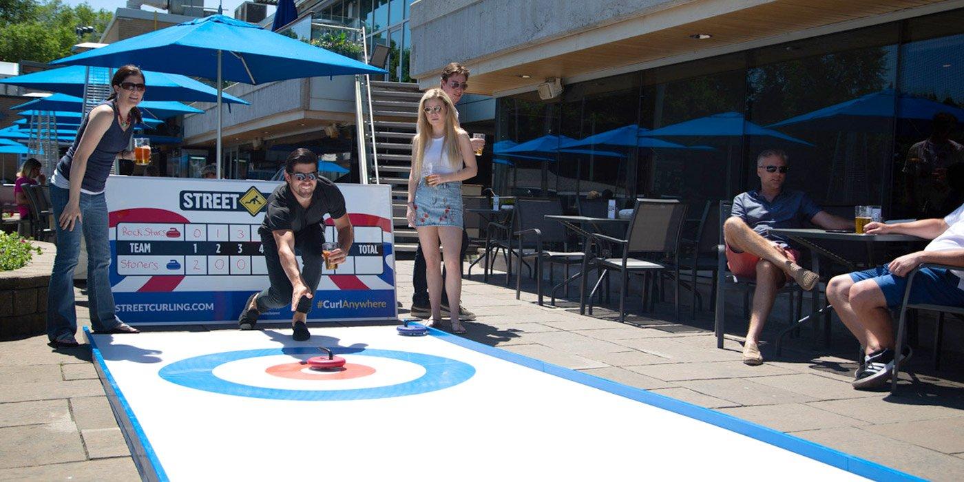 outdoor curling