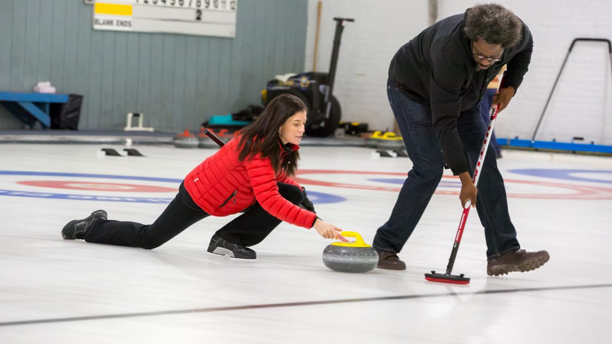 artificial curling history