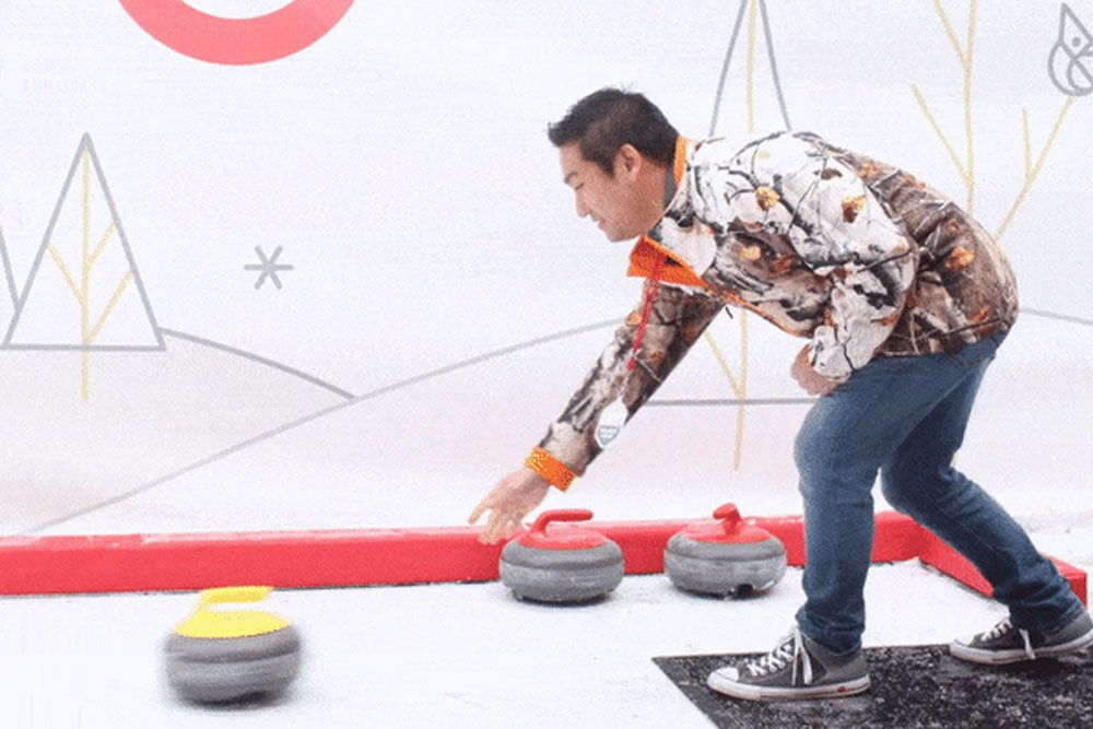 curling around the world