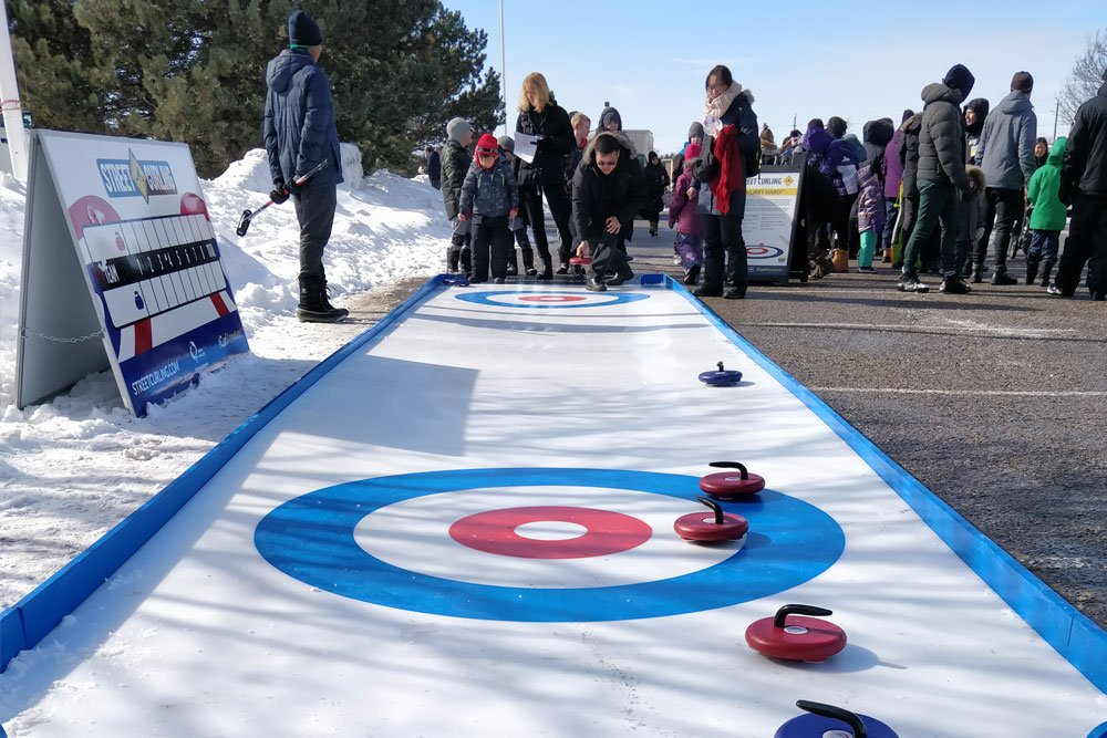 Synthetic Ice Curling Tournament
