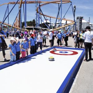 theme park curling classic rink