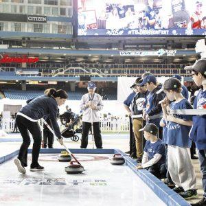 curling rink activation